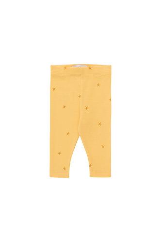 Starfish Baby Pant, Yellow/Honey - Tiny Cottons