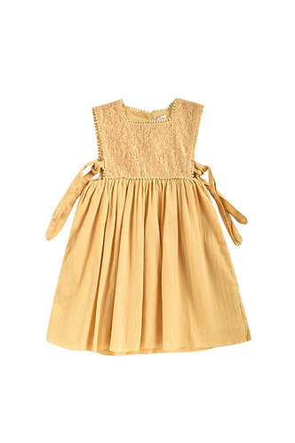 Paolina Dress, Soft Honey - Louise Misha