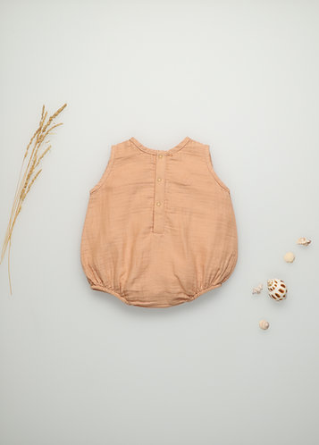 Bob Baby Romper, Camel - the new society