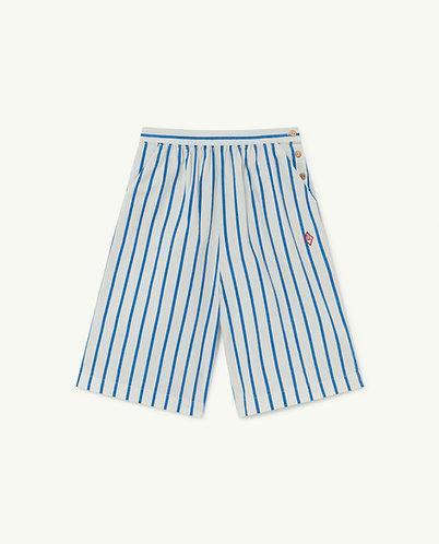 Buffalo Kids Trousers, White Stripes - TAO