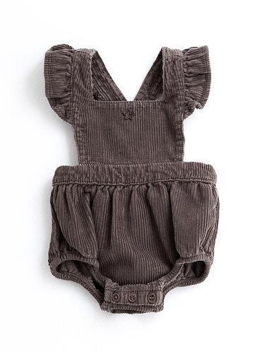 Baby Corduroy body, Brown - Tocoto Vintage