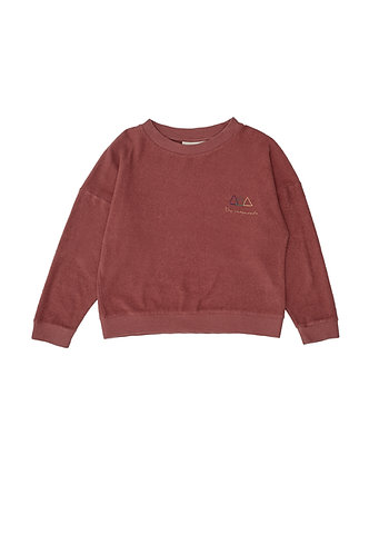 Logo Sweatshirt, Red - The Campamento