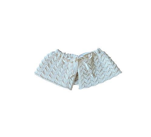 Knitted Collar, Milk - LiiLU