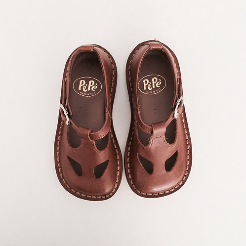 Kava Brown Shoes by PePe