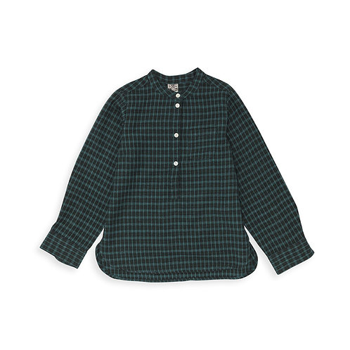 Tunic Shirt, Ckeck Carreaux - BONTON