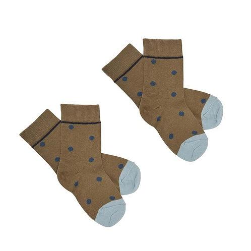 Knee Stockings, Camel - Fub
