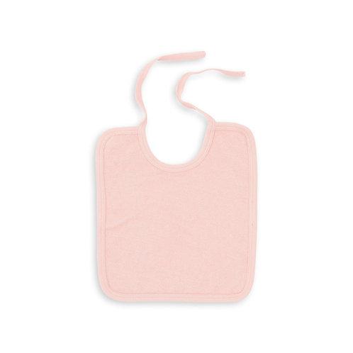Baby Towelling Bib, Rose Blossom - BONTON