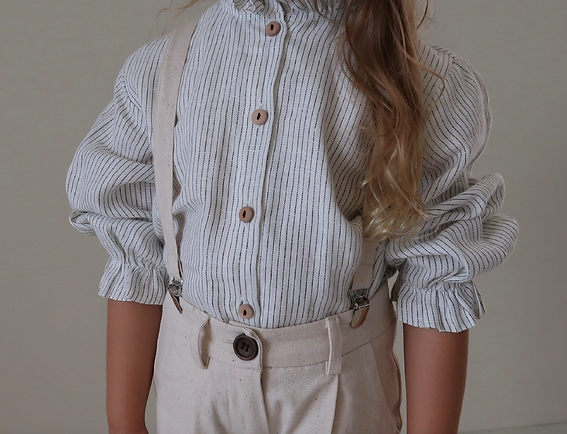 fanette blouse IRIS PINAFORE HOUSE OF PA