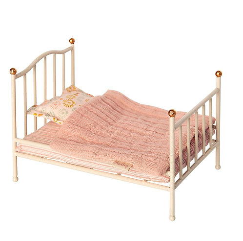Vintage Bed For Mouse,  Off-white - Maileg