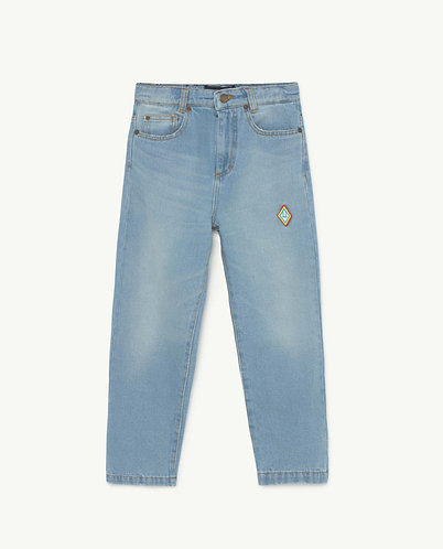 Ant Kids Trousers, Denim logo - TAO