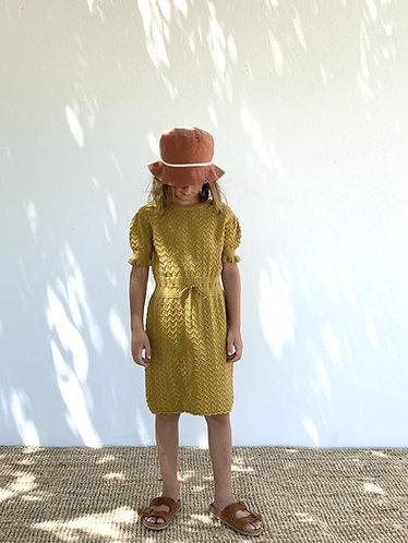 Nelly Knit Dress, Pistachio - LiiLU