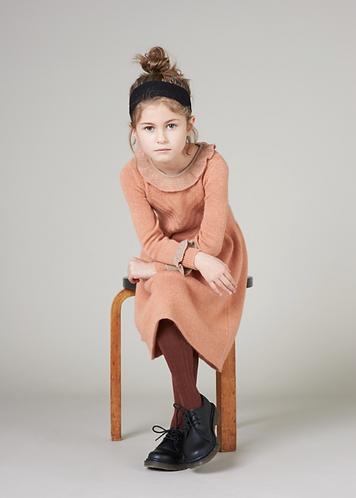 Amberly Dress, Coral Haze - Caramel