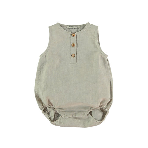 Rosaeu Baby Romper, Natural - the new society