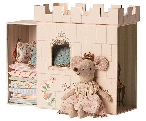 Princess On The Pea Mouse, Pink - Maileg