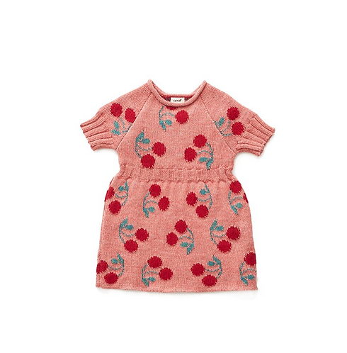 Cherry Dress, Rose/Multi - Oeuf