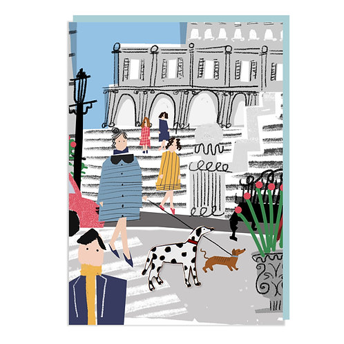 Paperscapes – Parisian Pets, Dalmatian