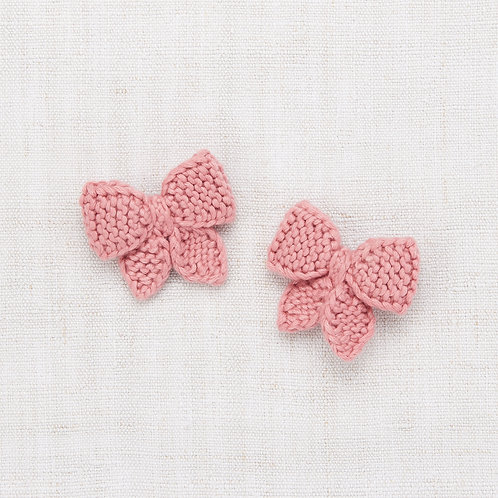 Baby Puff Bow Set, Rose Blush - Misha & Puff