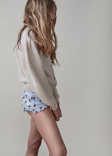 Lilian Knit Jacket, Natural - the new society