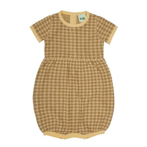 Baby Romper Suit, Desert Sun/Camel - Fub