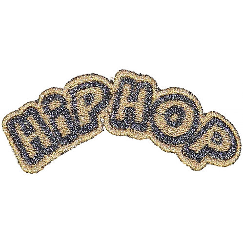 Badges Hip Hop, Gold - Louis Louise