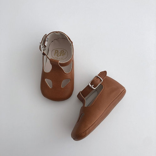 Nevada Cuolo Strap Brown Shoes by PePe