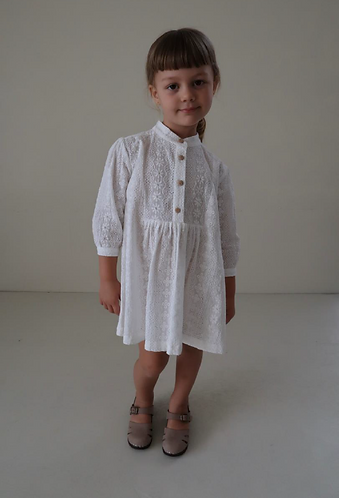 Ines  Dress, Picnic Lace - House Of Paloma