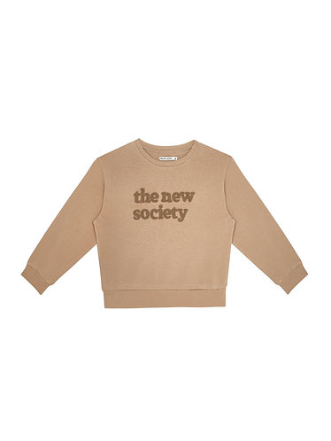 TNS Sweater, Camel - the new society