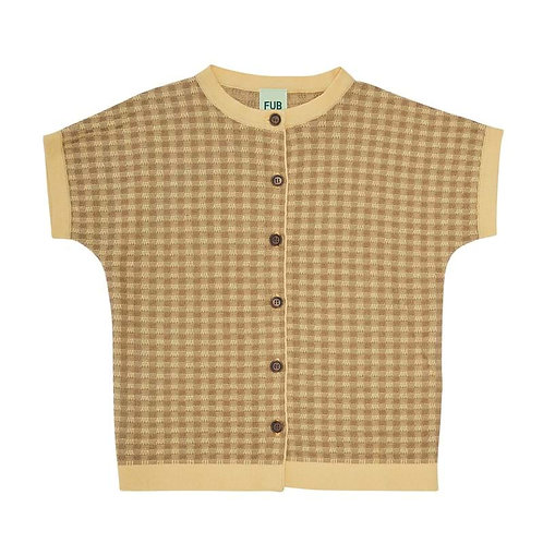 Knitted Shirt, Desert Sun/Camel - Fub