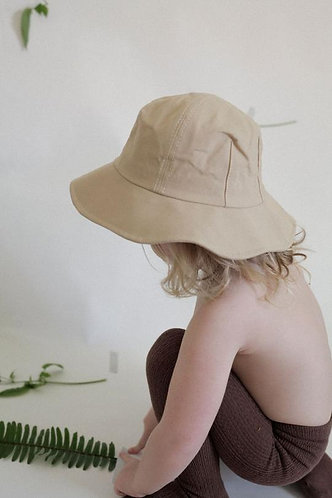 Childrens Everyday Hat, Beige - Wellington Factory
