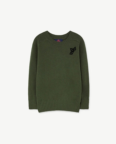 Sardine Sweater, Green - TAO