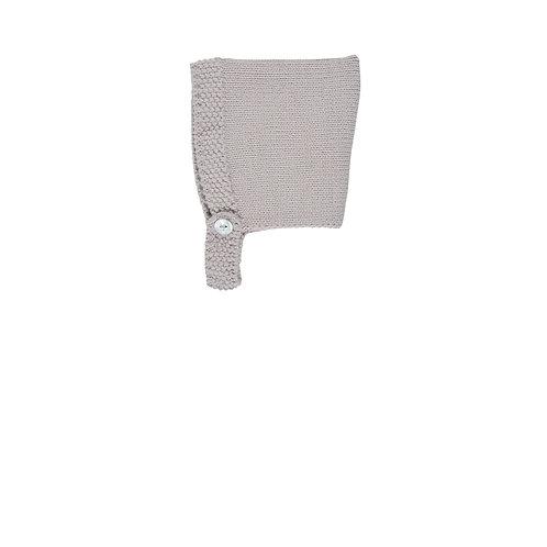 New Born Basic Bonnet Lavander - Bonnet a pompon
