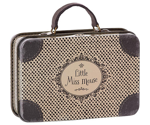Metal Suitcase, Little Miss Mouse - Maileg