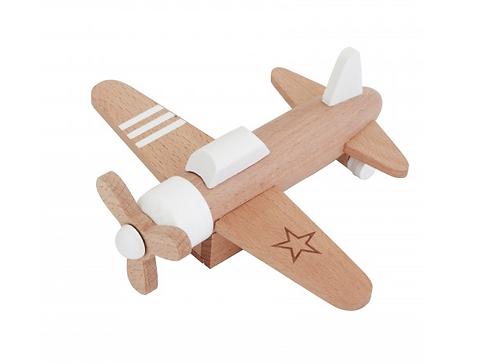 Hikoki  propeller plane - White