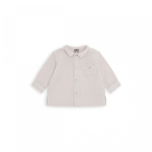 Journal Shirt, Ecru chaineze - BONTON