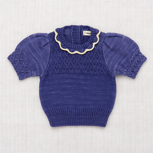 Eloise Pullover, Blue Pullover - Misha & Puff