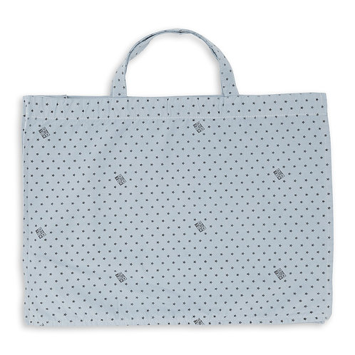 Bonton Shopping Bag, Blue Charles - BONTON
