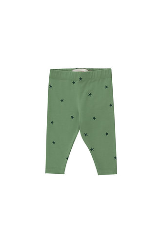 Starfish Baby Pant, Green/Ink Blue - Tiny Cottons