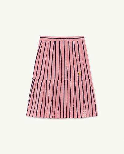 Turkey Skirt, Pink Stripes - TAO