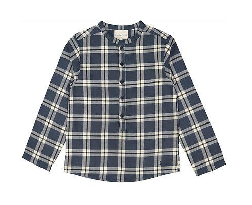 GD Pere Tartan Shirt,Blue - Louis Louise