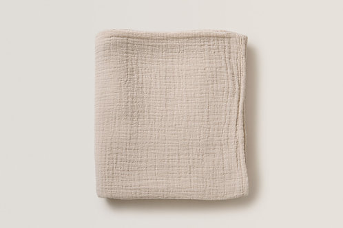 Eggshell Muslin Swaddle Blanket - Garbo&Friends