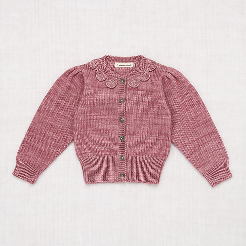 Ellie Cardigan, Antique Rose - Misha & Puff
