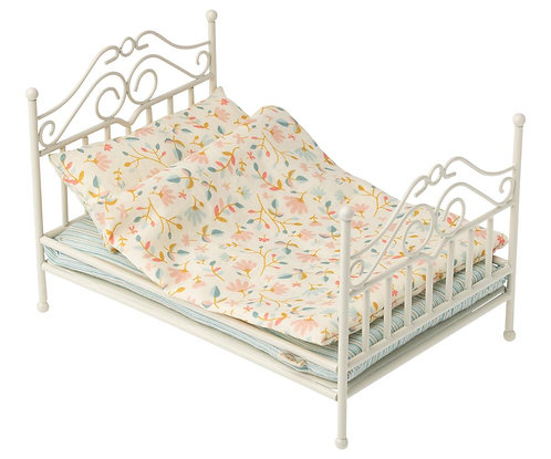 Vintage Bed Micro, Soft Sand - Maileg