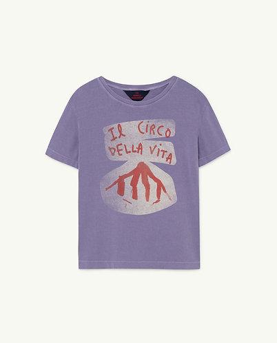 Rooster Kids T-Shirt, Purple Circo - TAO