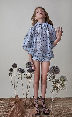 Olivia Blouse, Daisy Flower - the new society