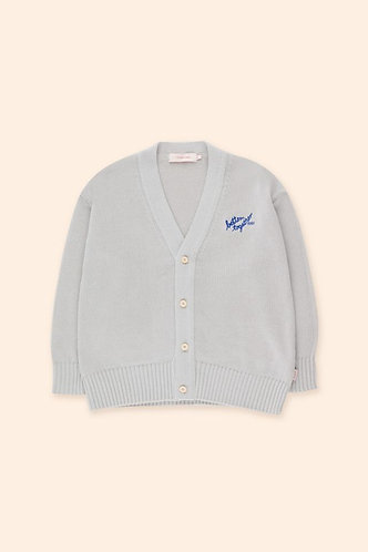 Better Together Cardigan, Pale Grey - Tiny Cottons