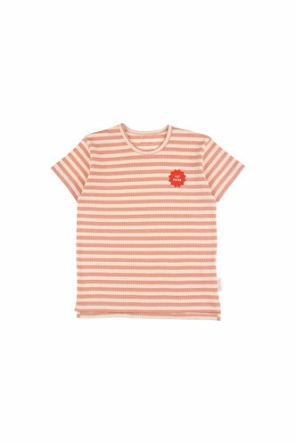 1ST Prize SS Tee, Cream/Terracotta - Tiny Cottons
