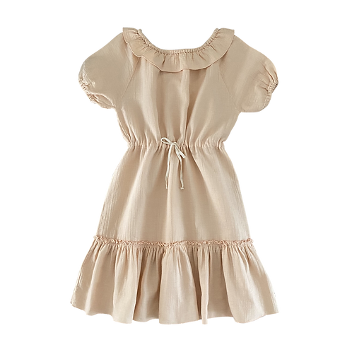 Clara Dress, Nude - LiiLU