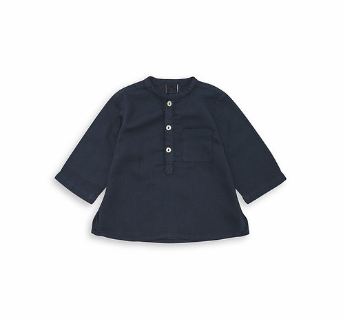 Feu Tunic, Navy Blue - BONTON
