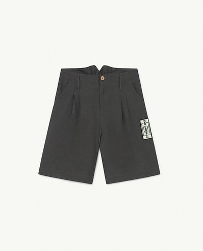 Monkey Twill Kids Trousers, Black - TAO