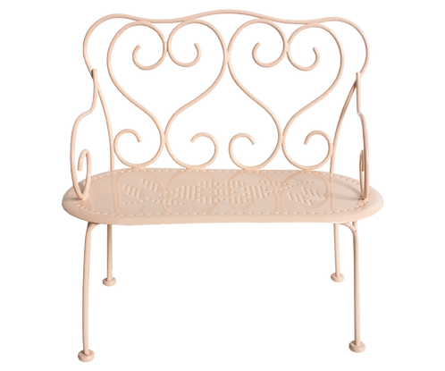 Mini Romantic Bench, Powder - Maileg
